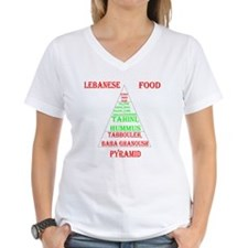 Lebanese Food Pyramid Shirt