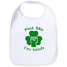 Fist Me, I'm Irish Bib