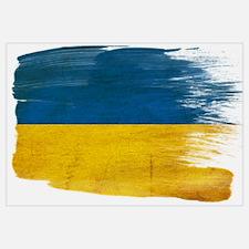 Ukraine Flag Wall Art
