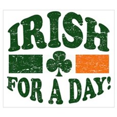 Irish for a day Wall Art Poster