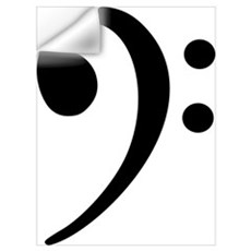 Bass clef Wall Art Wall Decal