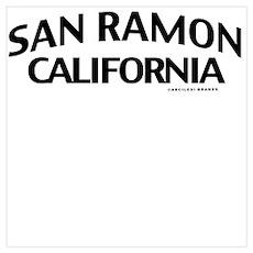 San Ramon Wall Art Poster