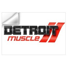DETROIT MUSCLE Wall Art Wall Decal