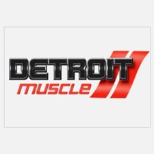 DETROIT MUSCLE Wall Art