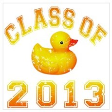 Class Of 2013 Duckie Wall Art Poster