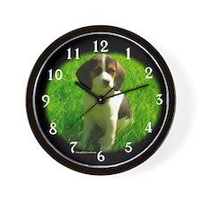 Beagle 4 Wall Clock