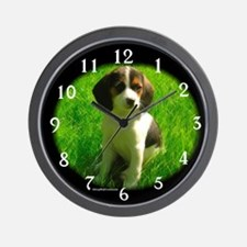 Beagle 4 Wall Clock