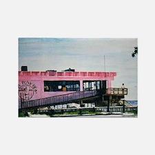 Pink Pony Pub Art Rectangle Magnet