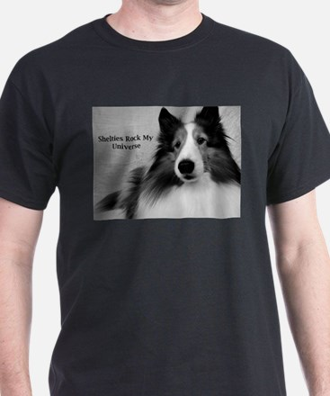 Shelties Rock My Universe T-Shirt