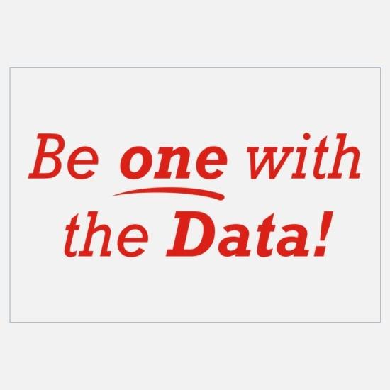 One / Data Wall Art