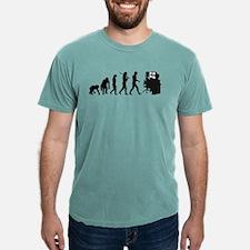 Film Editor Evolution Mens Comfort Color T-Shirts