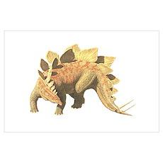 Stegosaurus Wall Art Poster