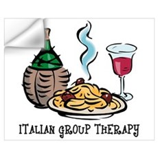 Italian Group Therapy Wall Art Wall Decal