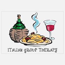 Italian Group Therapy Wall Art