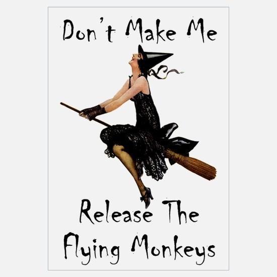 Release the Flying Monkeys Wall Art