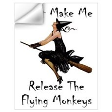 Release the Flying Monkeys Wall Art Wall Decal