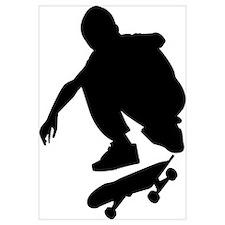 Skate On Wall Art