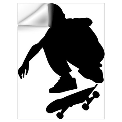 Skate On Wall Art Wall Decal