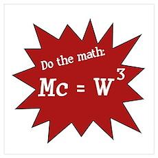 Do the math Wall Art Poster