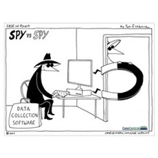 Spy vs. Spy Wall Art Poster
