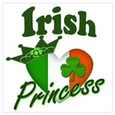 Irish Princess Wall Art Canvas Art