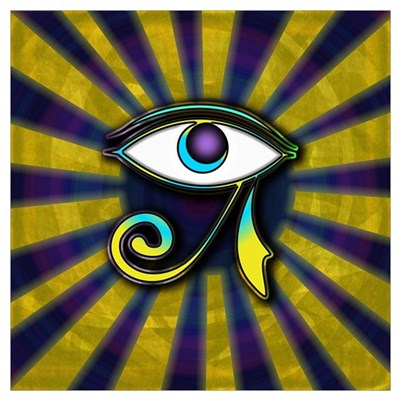 Eye of Osiris Wall Art Poster