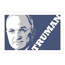 President Truman Wall Art Poster