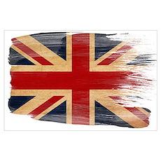 United Kingdom Flag Wall Art Poster
