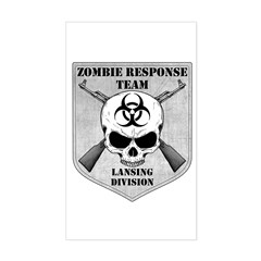 Zombie Response Team: Lansing Division Decal