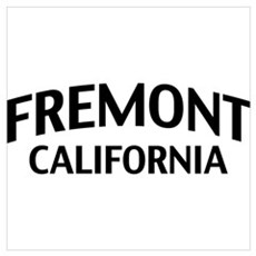 Fremont California Wall Art Poster