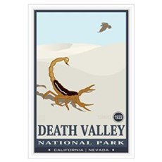National Parks - Death Valley 2 Wall Art Framed Print