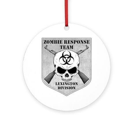 Zombie Response Team: Lexington Division Ornament