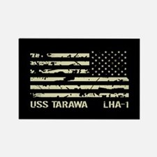 USS Tarawa Rectangle Magnet