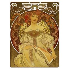 Dreams by Alphonse Mucha Wall Art Poster