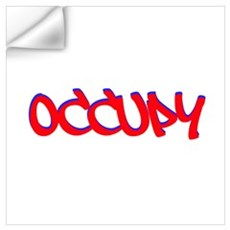 Occupy Wall Art Wall Decal