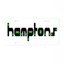 Hamptons Aluminum License Plate