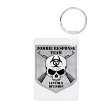 Zombie Response Team: Lincoln Division Keychains