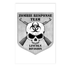 Zombie Response Team: Lincoln Division Postcards (