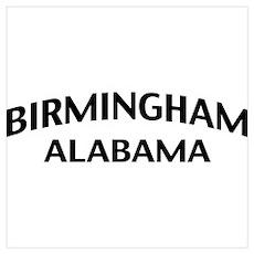 Birmingham Alabama Wall Art Poster