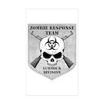 Zombie Response Team: Lubbock Division Sticker (Re