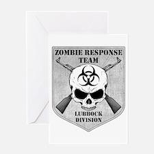Zombie Response Team: Lubbock Division Greeting Ca