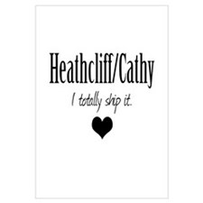 Heathcliff and Cathy Wall Art
