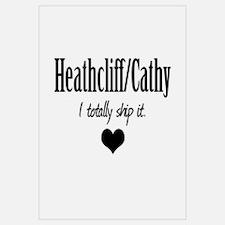 Heathcliff and Cathy Wall Art
