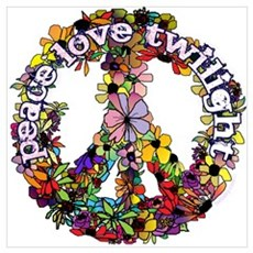 Peace Love Twilight by Twibaby Wall Art Poster