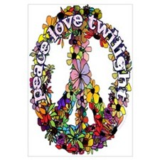 Peace Love Twilight by Twibaby Wall Art
