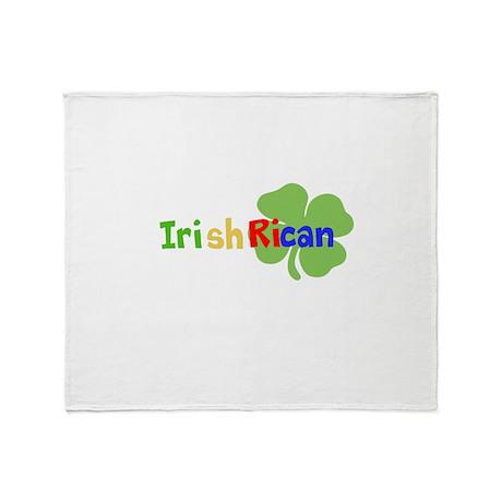 IrishRican Throw Blanket