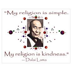 Kindness Wall Art Poster