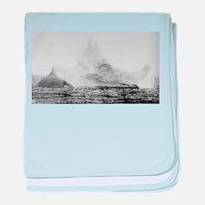 The Iceberg baby blanket