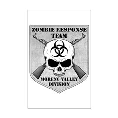 Zombie Response Team: Moreno Valley Division Posters