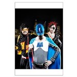 Super Heroes Large Poster